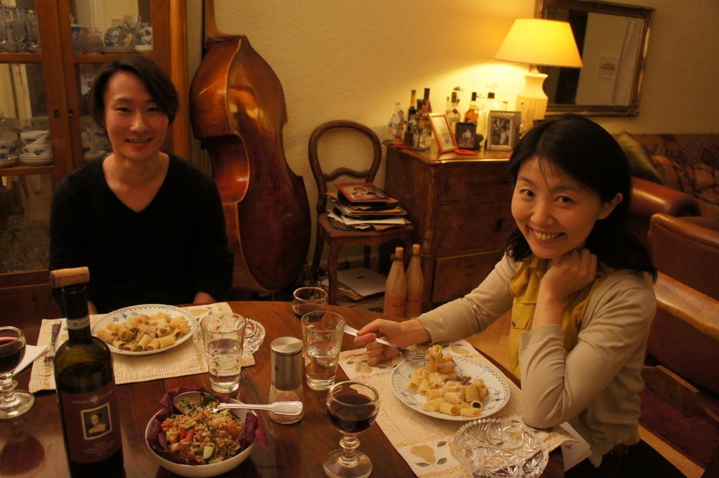 アンペルマンテラスとMitte散歩と普段晩餐。_c0180686_17335125.jpg