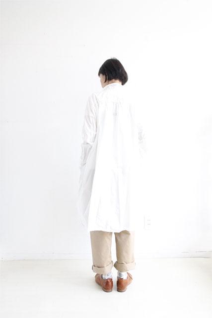 オリジナルコットンロングシャツ WHITE_f0215708_10391988.jpg