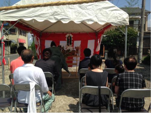 大和高田の家  地鎮祭_c0124828_20141515.jpg