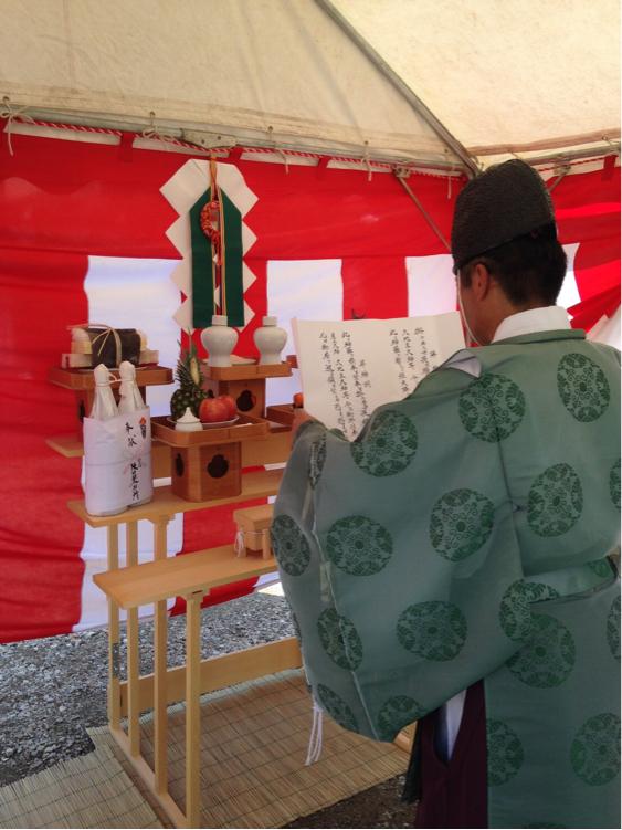 大和高田の家  地鎮祭_c0124828_20141561.jpg