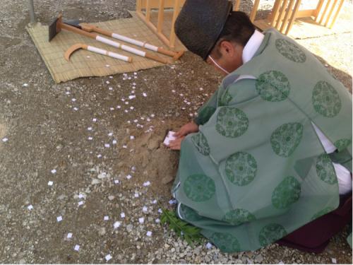 大和高田の家  地鎮祭_c0124828_20141680.jpg