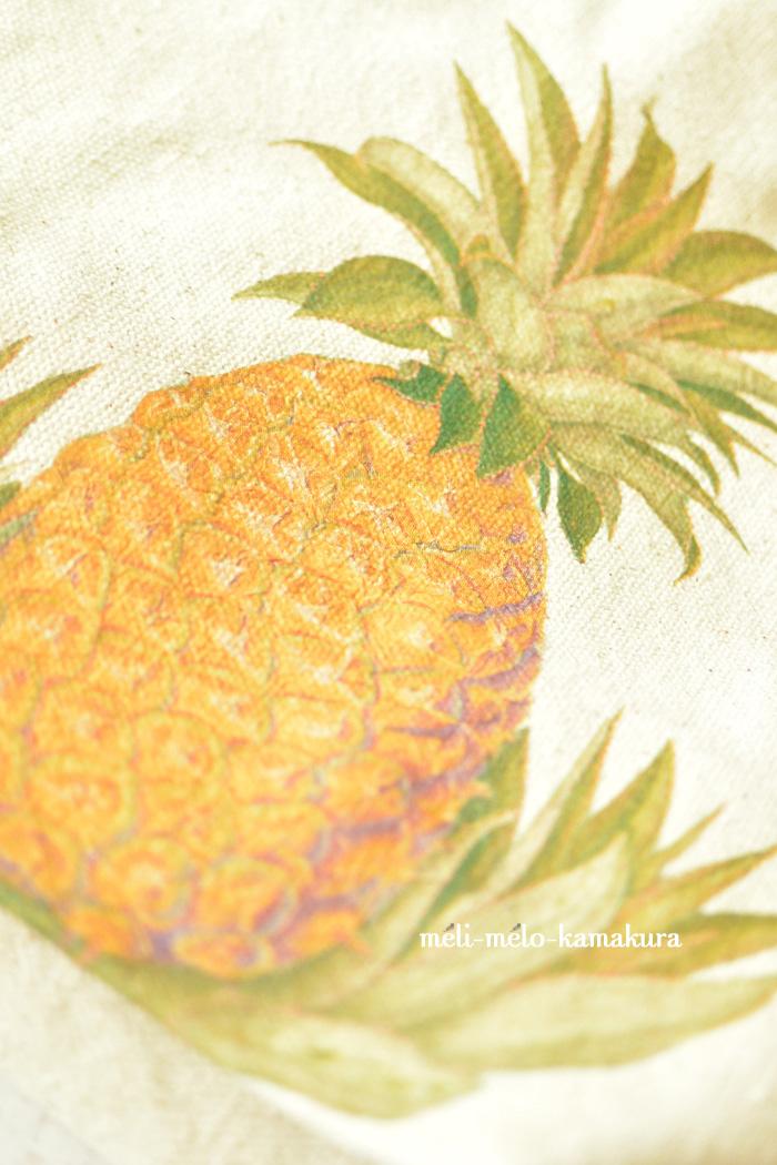 ◆デコパージュ*リゾートに行きたい!パイナップルのバッグ♪_f0251032_1241288.jpg