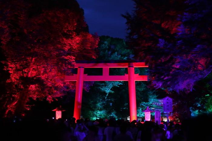 下鴨神社 糺の森の光の祭_f0021869_07433459.jpg