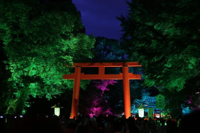 下鴨神社 糺の森の光の祭_f0021869_07441700.jpg