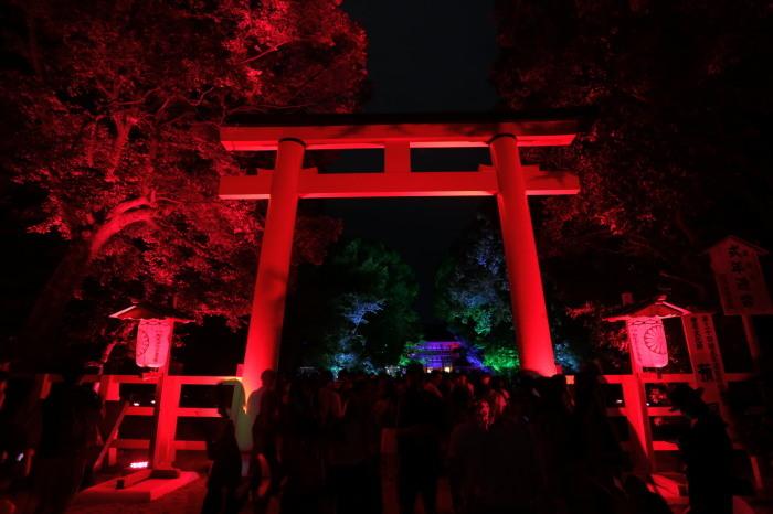 下鴨神社 糺の森の光の祭_f0021869_23525971.jpg