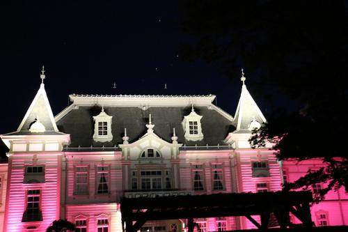 重文本館旧米沢高等工業学校本館のライトアップのテスト点灯、2日目・1_c0075701_205547.jpg