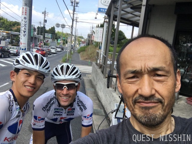 2016.08.19「KINAN Cycling Team参上??」_c0197974_3185456.jpg