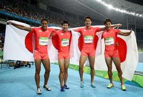 リオ五輪男子400mリレー_b0142989_11351829.jpg