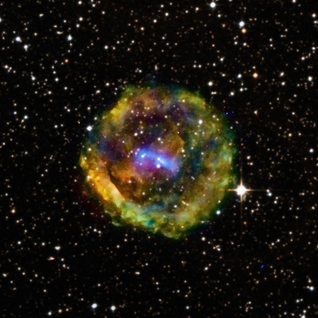 チャンドラX線観測衛星が捉えたいて座の超新星爆発痕G11.2-0.3_d0063814_15224350.jpg