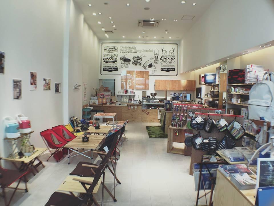 【お仕事】しろくまコーヒー+コールマンコラボカフェ@仙台店内装飾壁画制作。_a0039720_21172107.jpg
