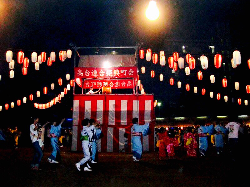 「 THANKS & 盆踊り 」_c0078333_13354936.jpg