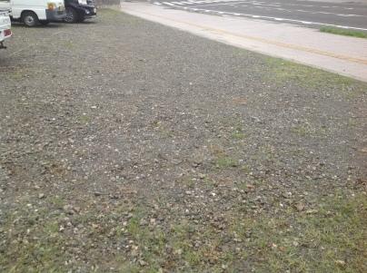 駐車場除草作業_c0186441_18002980.jpeg