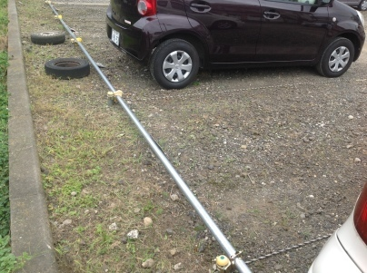 駐車場除草作業_c0186441_18094133.jpeg