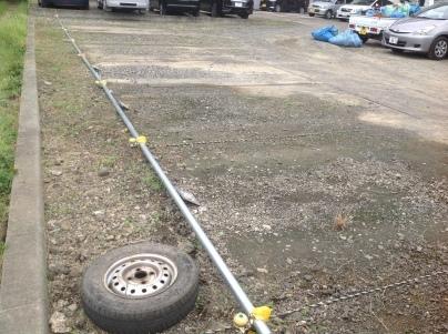 駐車場除草作業_c0186441_18095717.jpeg