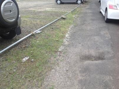 駐車場除草作業_c0186441_18133347.jpeg