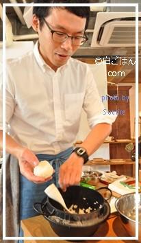 冨田ただすけ先生・ワークショップ「おにぎりと夏野菜」に参加しました☆雑貨屋sahan(サハン)×作家・松本寛司さんの器_c0350941_12173626.jpg