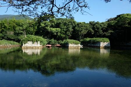 国境の島を訪ねて(6)お船江跡_c0013687_21362411.jpg