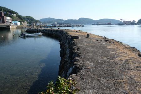 国境の島を訪ねて(6)お船江跡_c0013687_2136291.jpg