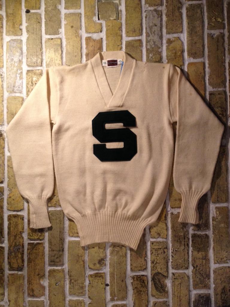 神戸店8/24(水)秋冬ヴィンテージ入荷!#4  Vintage Lettered Sweater!!!(T.W.神戸店)_c0078587_14134368.jpg