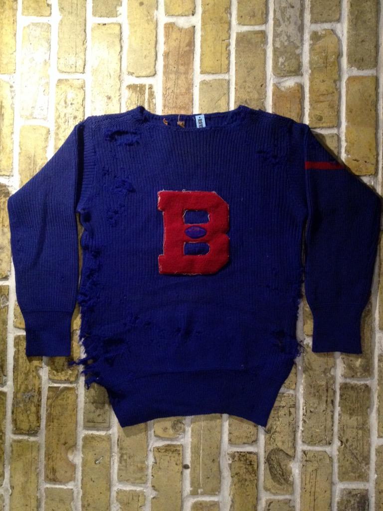 神戸店8/24(水)秋冬ヴィンテージ入荷!#4  Vintage Lettered Sweater!!!(T.W.神戸店)_c0078587_14185620.jpg