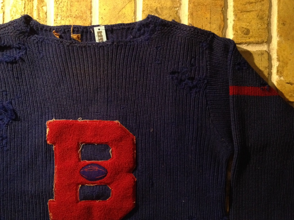 神戸店8/24(水)秋冬ヴィンテージ入荷!#4  Vintage Lettered Sweater!!!(T.W.神戸店)_c0078587_14192584.jpg