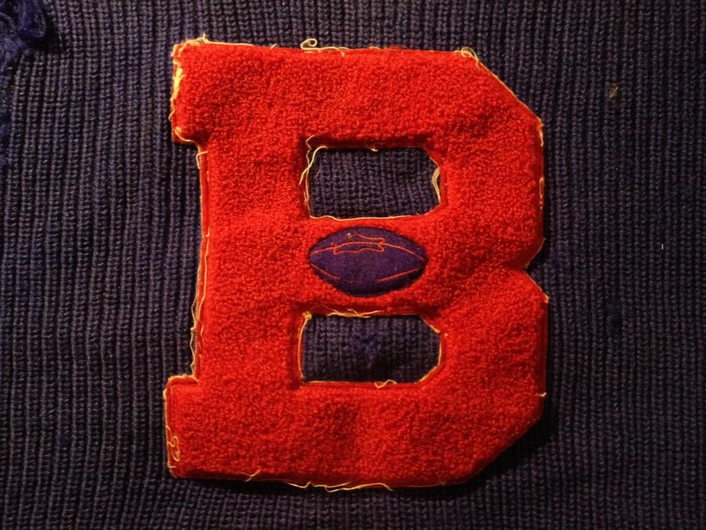 神戸店8/24(水)秋冬ヴィンテージ入荷!#4  Vintage Lettered Sweater!!!(T.W.神戸店)_c0078587_14193647.jpg