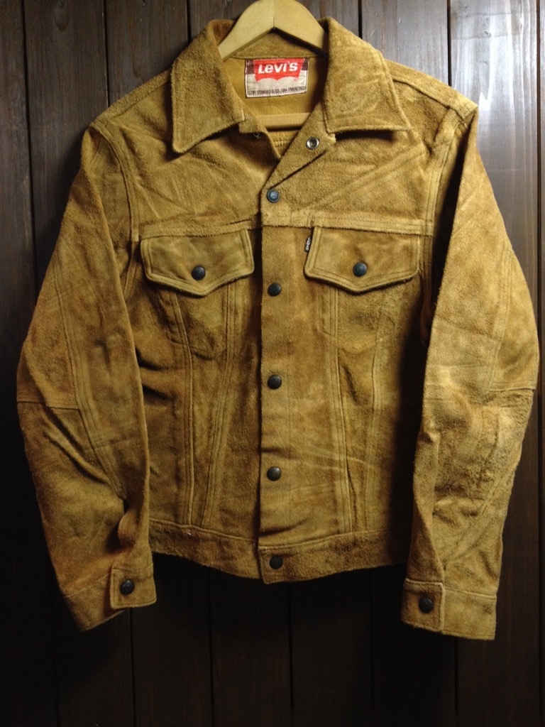神戸店8/24(水)秋冬ヴィンテージ入荷!#5  LEVI\'S Suede JKT,557XX,BarnStormer Type Leather JKT!!!_c0078587_14244970.jpg