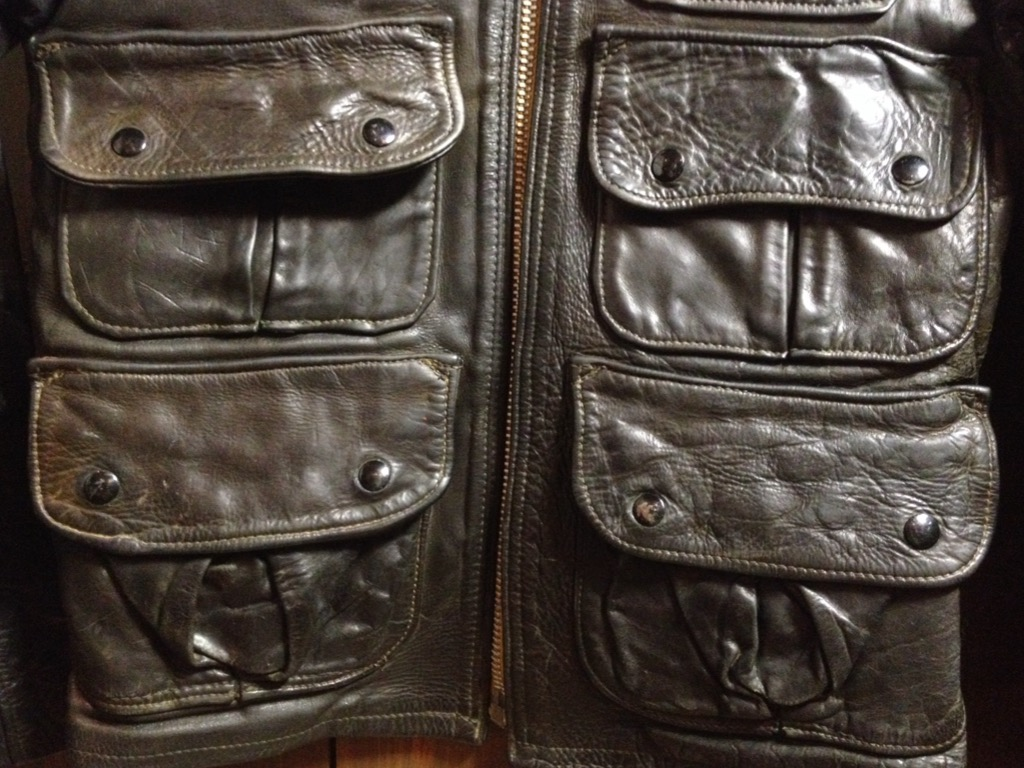 神戸店8/24(水)秋冬ヴィンテージ入荷!#5  LEVI\'S Suede JKT,557XX,BarnStormer Type Leather JKT!!!_c0078587_14463063.jpg