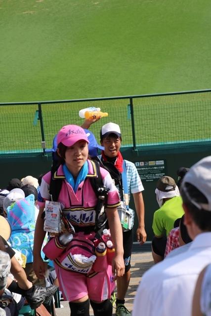 藤田八束の甲子園の魅力@野球少年憧れの甲子園大会、熱闘が繰り広げられる甲子園・・・甲子園スタンドの星_d0181492_20341373.jpg