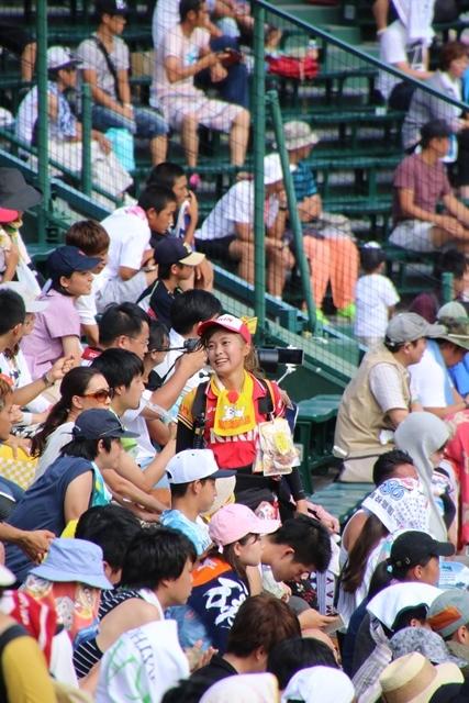 藤田八束の甲子園の魅力@野球少年憧れの甲子園大会、熱闘が繰り広げられる甲子園・・・甲子園スタンドの星_d0181492_20355035.jpg