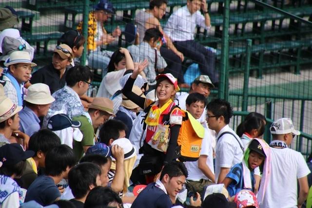 藤田八束の甲子園の魅力@野球少年憧れの甲子園大会、熱闘が繰り広げられる甲子園・・・甲子園スタンドの星_d0181492_20360172.jpg