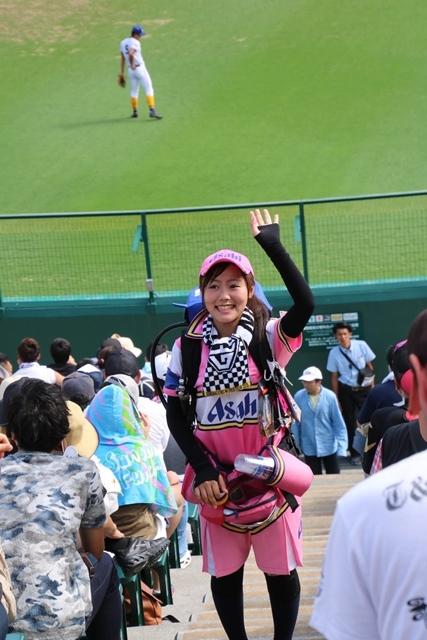 藤田八束の甲子園の魅力@野球少年憧れの甲子園大会、熱闘が繰り広げられる甲子園・・・甲子園スタンドの星_d0181492_20373519.jpg