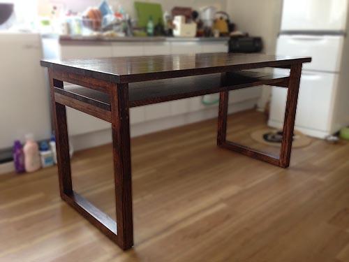 ダイニングテーブル&収納棚_f0177513_19531311.jpg