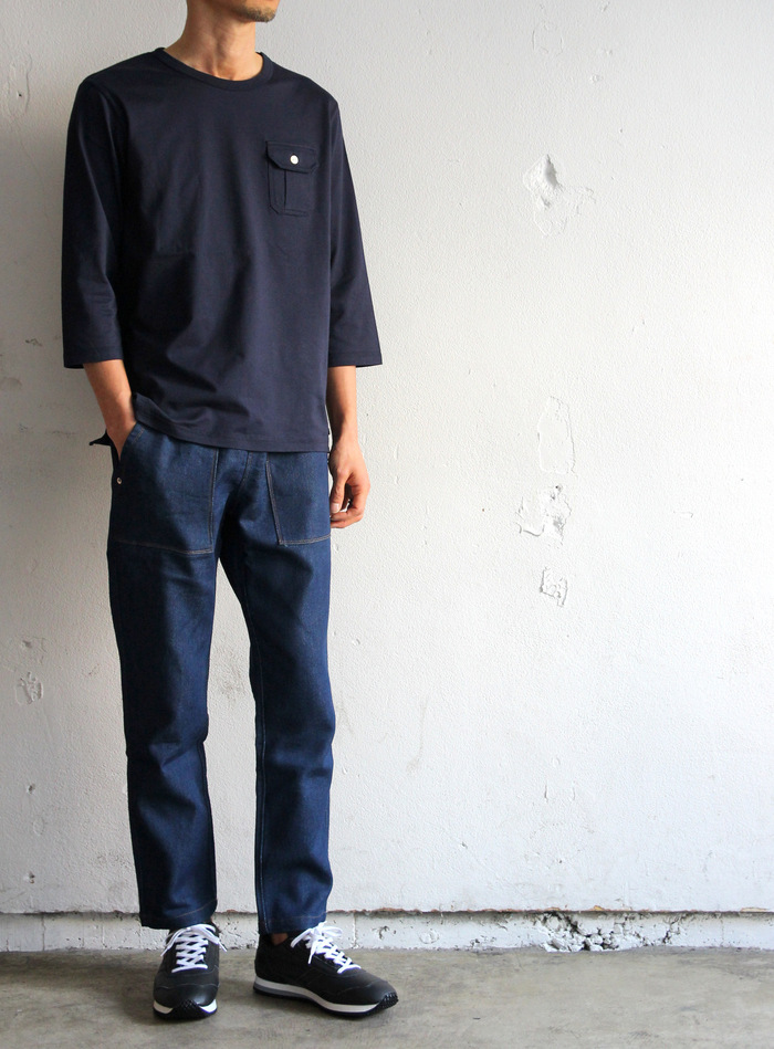 Denim Jersey Ankle PTS_e0142928_21165918.jpg