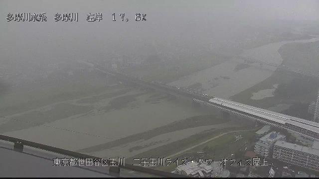 多摩川の水位_b0191737_11504096.jpg