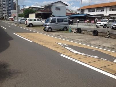 駐車場除草作業_c0186441_23511334.jpeg