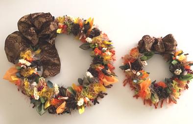 fall Treasures Mini Wreath*_f0017548_16502061.jpg