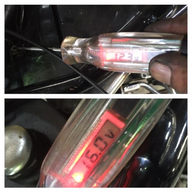 継続検査&電気系修理完了!_c0152253_129076.jpg
