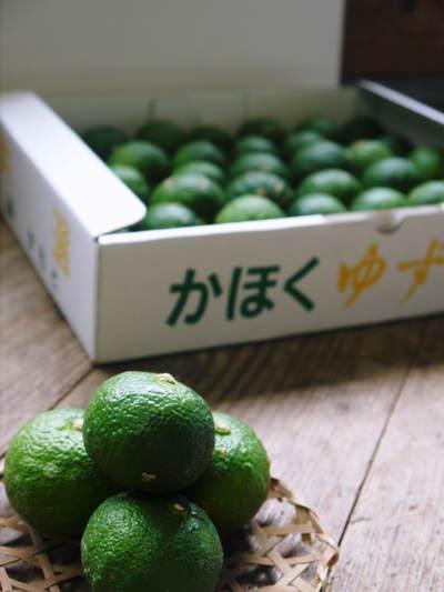 令和2年度の香り高き『青柚子』予約販売受付スタート!手作り「柚子こしょう」を作ってみませんか?_a0254656_1814597.jpg