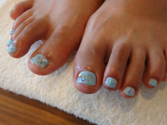 Sea Foot Nail_a0239065_13535123.jpg
