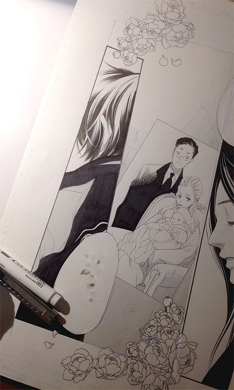 少女漫画と花_a0342172_19061639.jpg