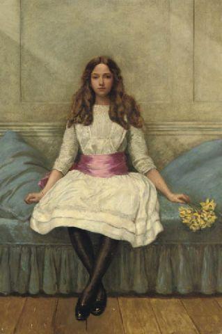 フィリップ・バーン=ジョーンズ:Irene Spencerの肖像_c0084183_11102298.jpg