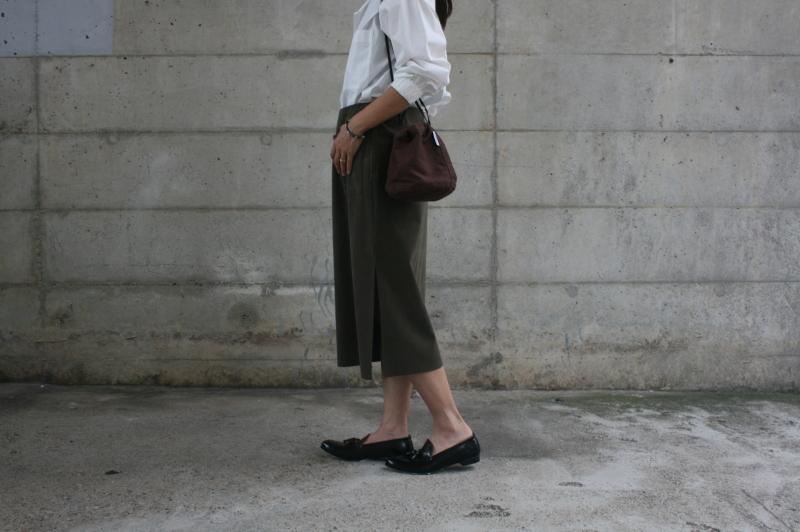 第3241回 Suede Skirt。_f0366424_13023549.jpg