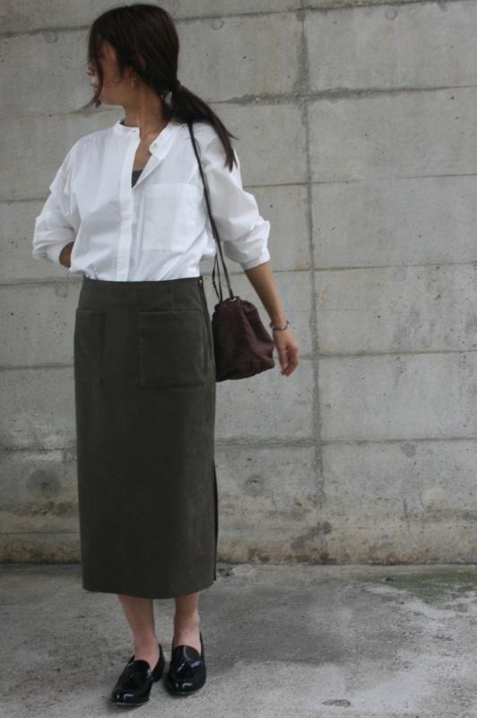 第3241回 Suede Skirt。_f0366424_13054408.jpg