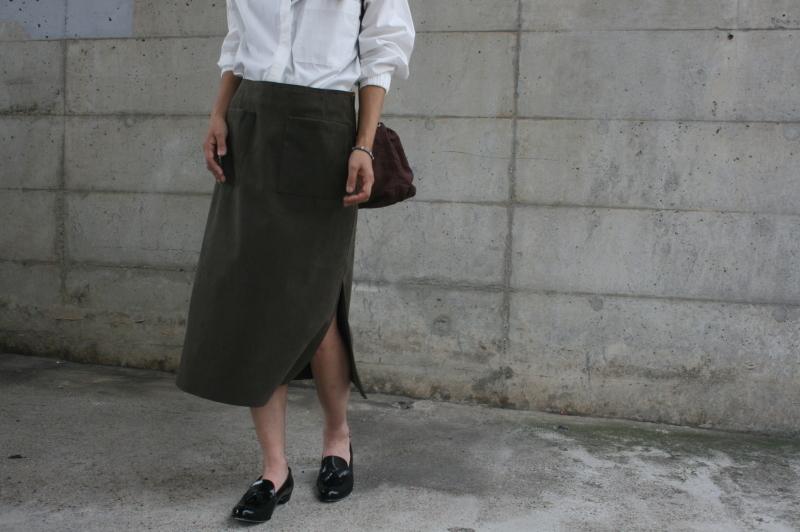 第3241回 Suede Skirt。_f0366424_13062363.jpg