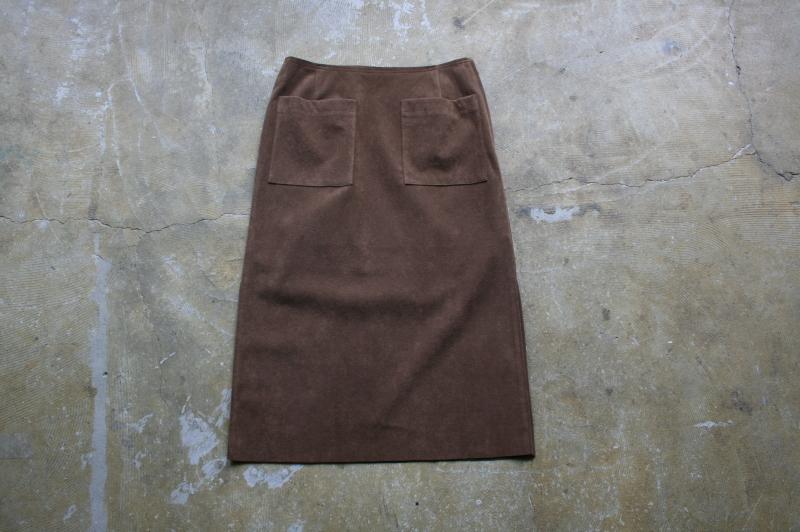第3241回 Suede Skirt。_f0366424_13063399.jpg