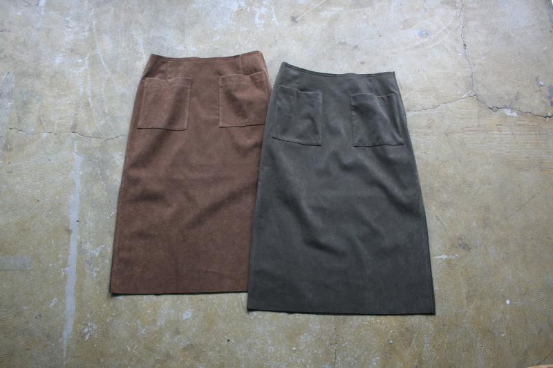 第3241回 Suede Skirt。_f0366424_13071016.jpg