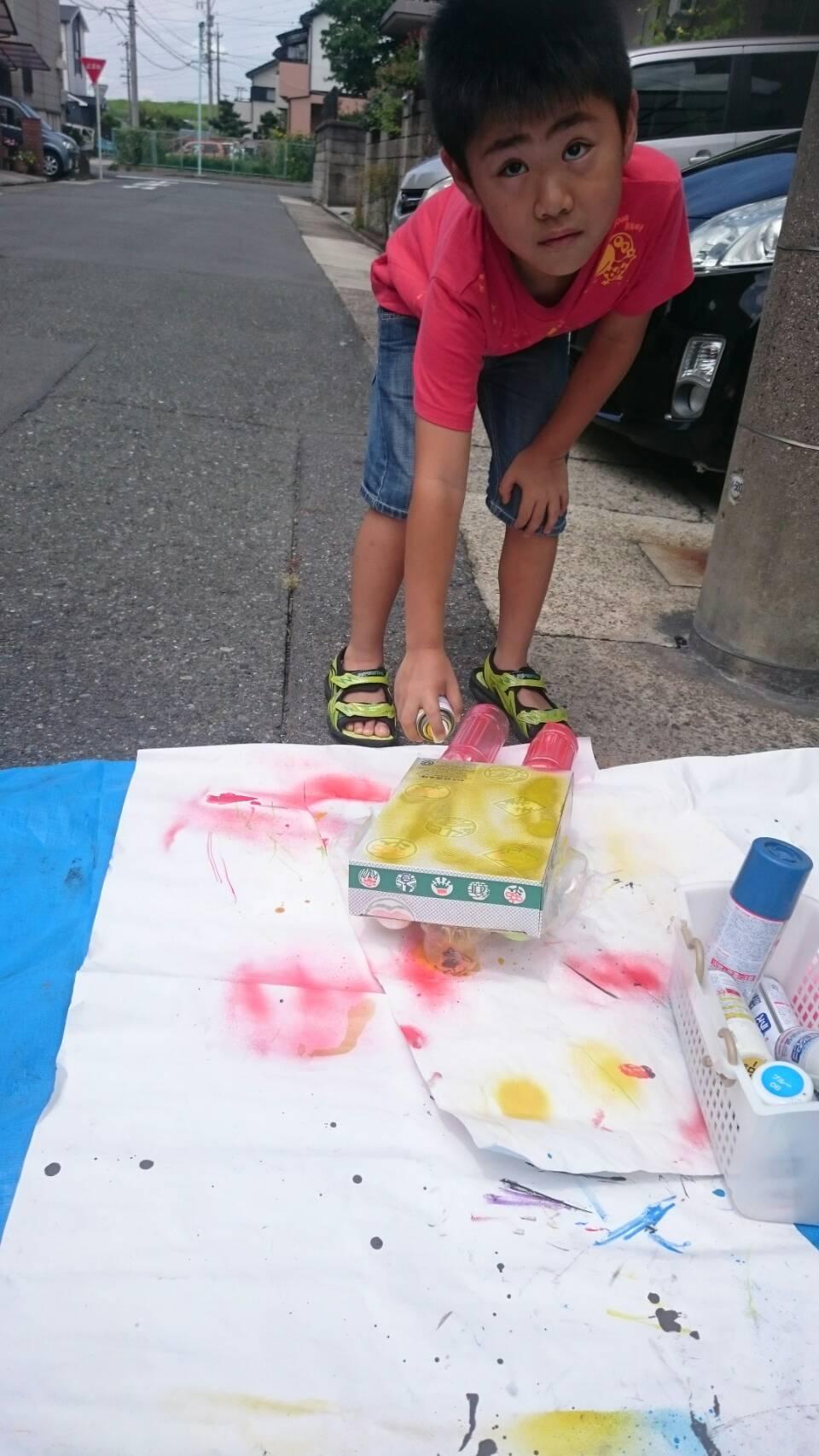 8月9月 楽しいお化けちゃん と アートキャンプ_c0217044_12162174.jpg
