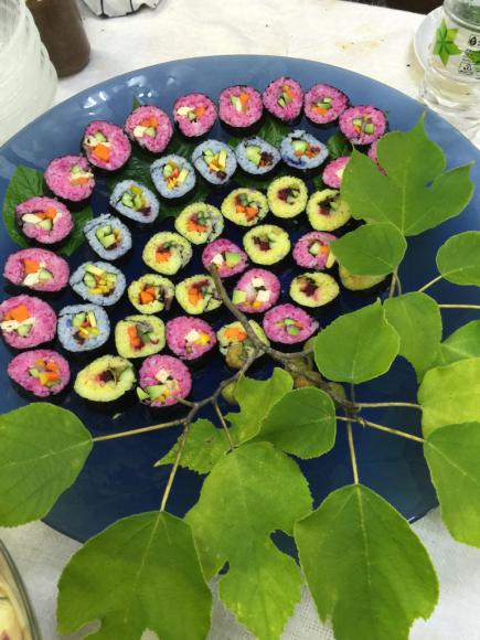 巻き寿司でおもてなし_b0266173_10132941.jpg