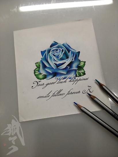 青い薔薇◎_e0261276_18565013.jpg